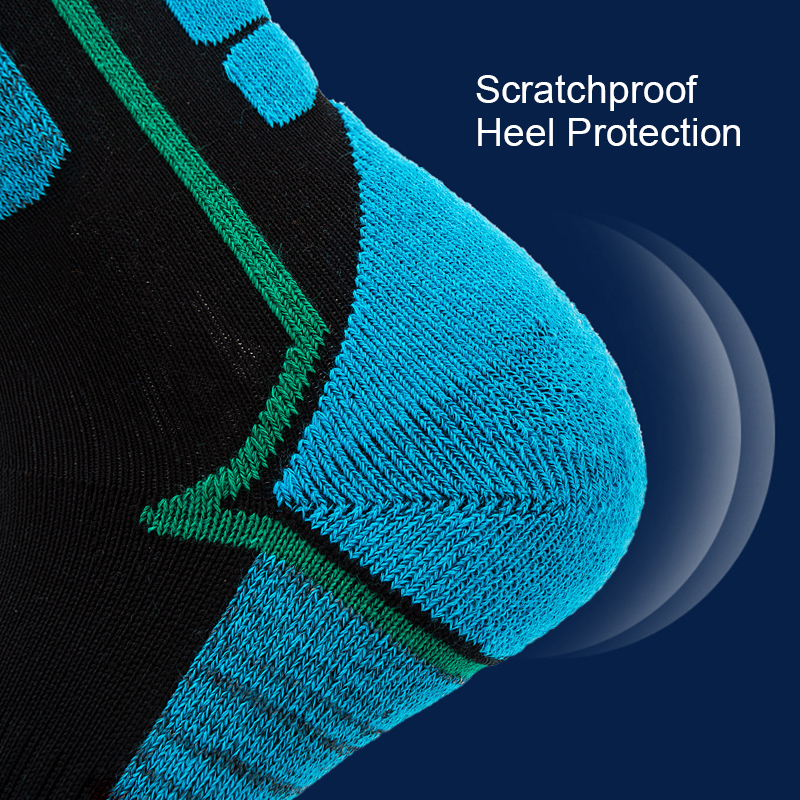 Loozykit Winter Warm Sports Socks Men Thickening Terry Thermo Sock Skiing Outdoor Thermal Sock High Hiking Sport