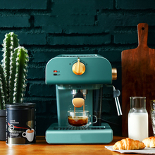 Coffee-Machine Steam-Integrated-Milk-Frother Commercial Semi-Automatic And Small Retro