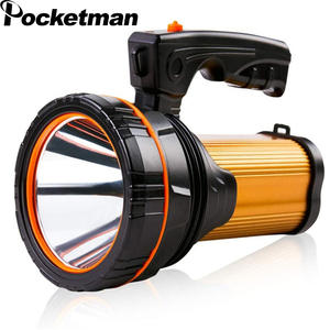 Flashlight Led-Torch Power Usb Rechargeable Long-Range Waterproof Camping 60000LM 800m