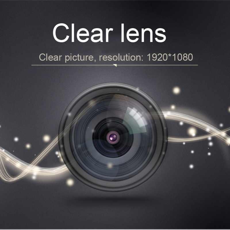 كاميرا صغيرة تعمل بالواي فاي 1080P كاميرا الأشعة تحت الحمراء للرؤية الليلية كاميرا مايكرو 150 درجة زاوية واسعة مراقبة عن بعد كاميرا أمنية صغيرة Dvr