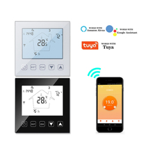 AC95~250V WiFi Thermostat Smart Temperature Controller for Water Electric Gas Boiler Floor Heating Thermostat work with Tuya