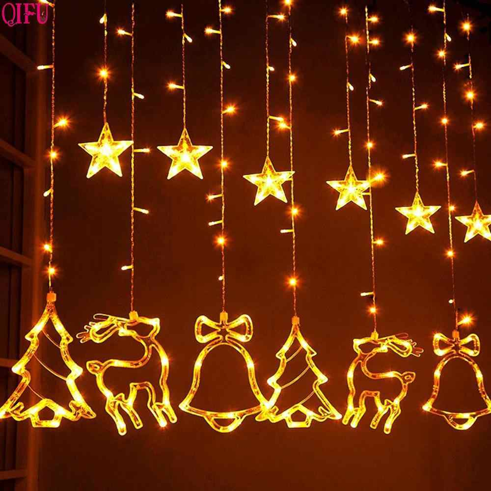 Qifu Merry Christmas Led Light Outdoor Christmas Ornaments