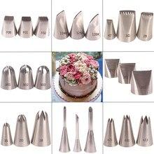 Grandes dicas russas conjunto rosa decoração do bolo de flores bicos de tubulação esfera bola confeitaria confeitaria dicas de pastelaria ferramentas de decoração do bolo