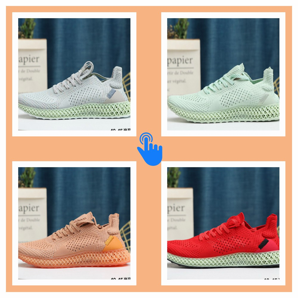 The New 4D Printing Technology For Men's Running Shoes Will Be A Hit In 2020  The Alphaedge Sneakers For Men