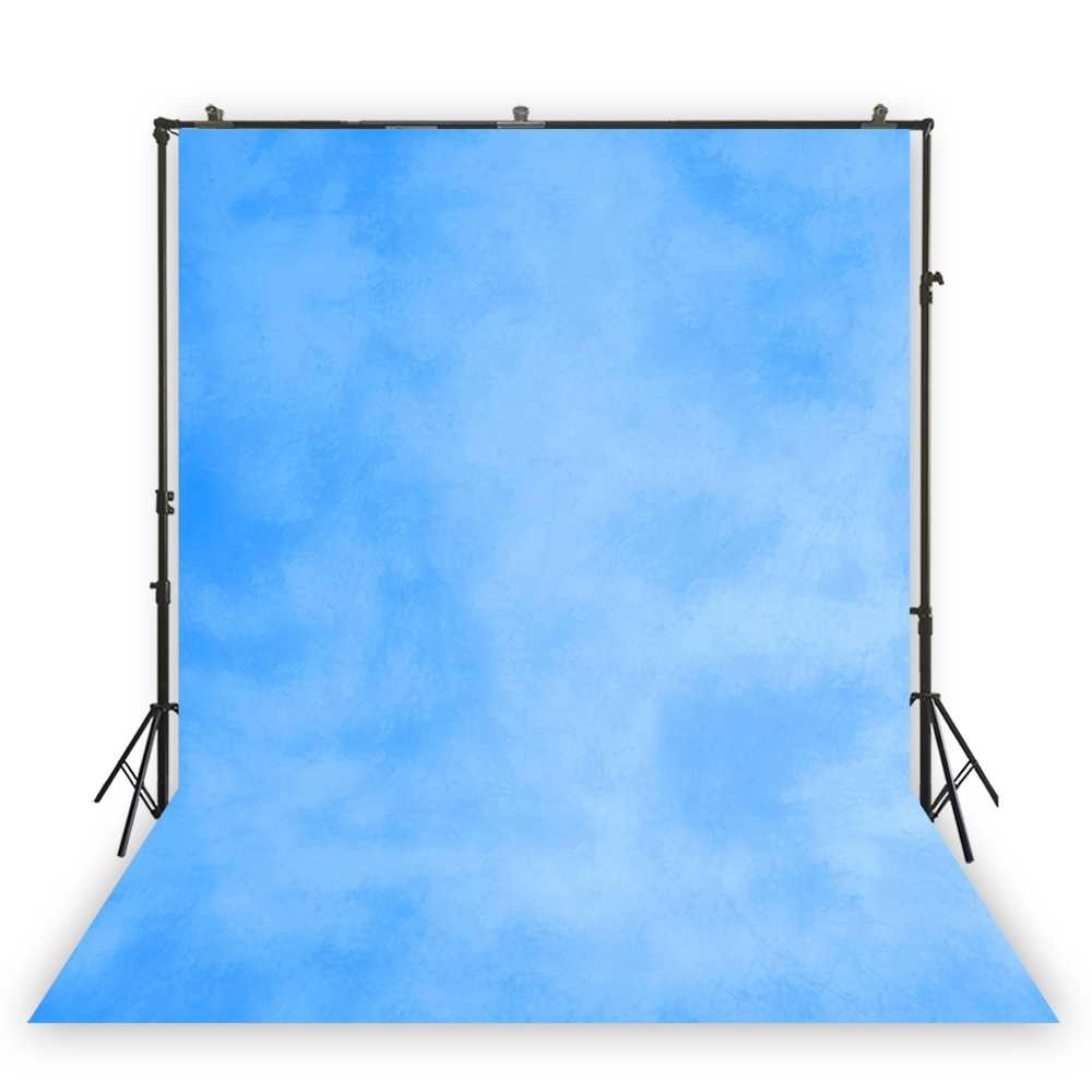 CdHBH 10X7ft Blue Background Exquisite Curtains Photography Background Studio Props LYHUI078