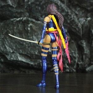 """Image 5 - Orijinal MS seçin X erkek Psylocke 7 """"Action Figure X MEN Mutant Elizabeth Betsy Braddock koleksiyonu DST elmas seçin oyuncaklar bebek"""