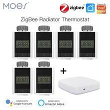 Tuya zigbee 30 умный термостатический клапан радиатора домашний