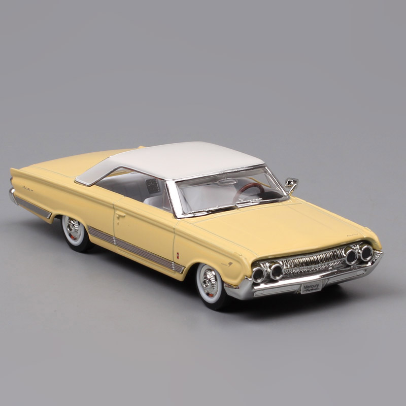 1/43 Scale Road Signature Old 1964 Ford Mercury Marauder Diecast Model Replica Diecasts & Toy Vehicles Car Toys For Collectable