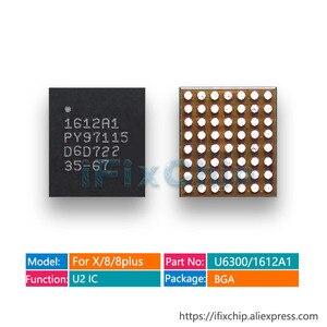 Image 1 - 5 sztuk/partia nowy 1612A1 56 pinów dla iphone X/8/8 plus ładowarka ładowania U2 Hydra USB IC układu