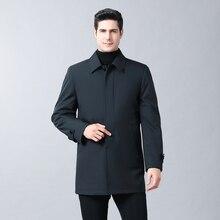 Winter Jacket Coats Men Fashion 2 in 1 Outwear Thicken Warm