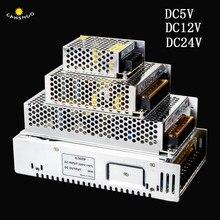 AC 110V-220V A DC 5 V 12 V 24 V 2A 3A 5A 10A 15A 20A 30A Interruttore ha condotto Adattatore di Alimentazione del Driver di Alimentazione per 5 V 12 V 24 V HA CONDOTTO LA Luce di Striscia