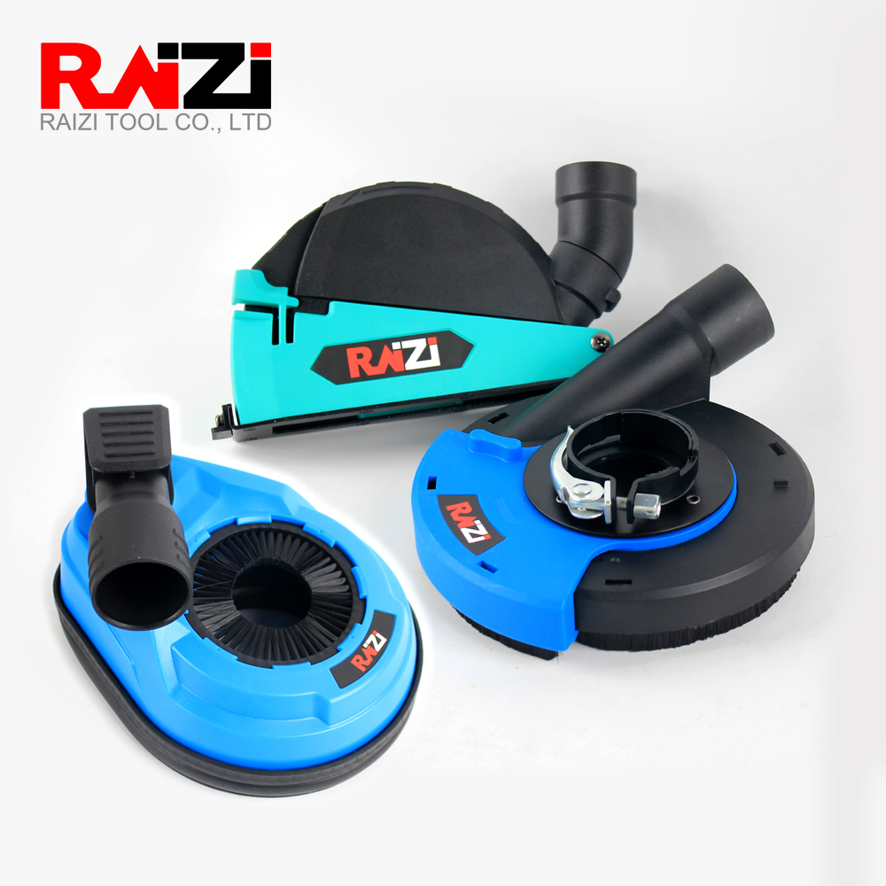 Raizi 3 Pcs Universal Dust Shroud Cover For Grinding Cutting Drilling Angle Grinder Hammer Drill Dust Collector Cover Tool