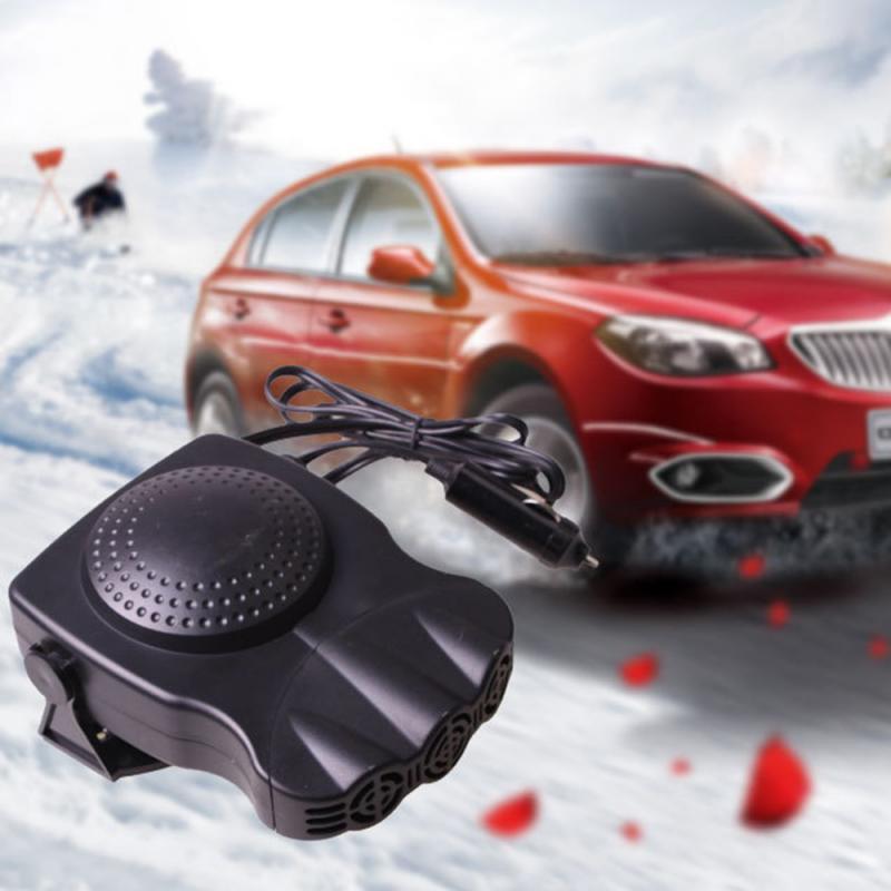 New 12V 150W Car Vehicle Cooling Fan Hot Warm Heater Windscreen Demister Defroster 2 In 1 Portable Auto Car Van Heater