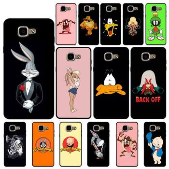 YNDFCNB Cartoon Bugs Bunny soft cover Phone Case for Samsung A6 A8 Plus A7 A9 A20 A20S A30 A30S A40 A50 A70 image