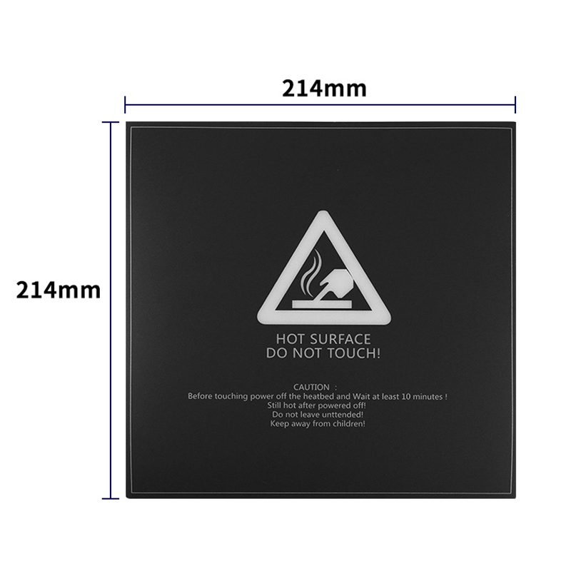 Image 4 - 3D Printer Accessories Mk2B/3 Hot Bed Sticker 214x214Mm for Wanhao I3 Anet A8 A6 Tricolor-in 3D Printer Parts & Accessories from Computer & Office