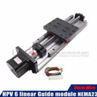 HPV6 ballscrew sfu1204 with Linear Guides HGR15 HIWIN same size with NEMA23 2.8A 56mm stepper motor