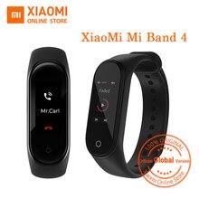 "Globale Versione Xiaomi Mi Banda 4 Banda Intelligente 0.95 ""A Colori AMOLED Display Inseguitore di Fitness braccialetto Frequenza Cardiaca Tracker 135mAh"