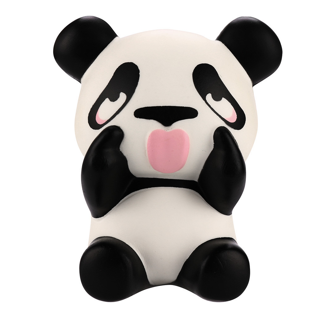 Cute Panda Slow Rising Fun Toys Simulation Cartoon Animal Toy For Gift Children Funny Gadgets Unzip Anti-stress Gift #B