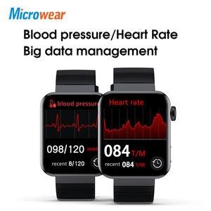 Image 5 - Microwear M1 Đồng Hồ Thông Minh Thể Thao Theo Dõi Nhắc Cuộc Gọi Điện Tâm Đồ Nhiệt Độ Nhịp Tim Cuộc Gọi Bluetooth Âm Nhạc IP68 Chống Thấm Nước Đồng Hồ Thông Minh Smartwatch