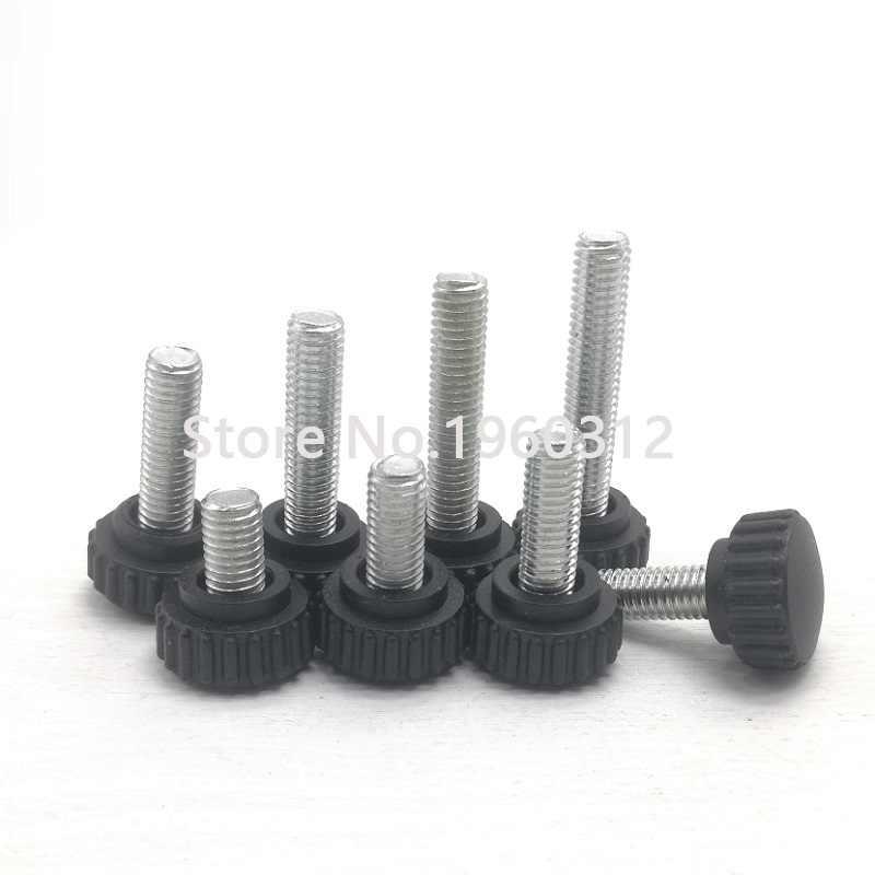 Dimensioni : M6, Lunghezza : 10mm 30pcs BOJI Thumb Screw Screw Plastic Screw Tightens The Thumb Bakelite Handle Screw