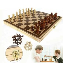 Нард шашки набор складной Настольная игра 3-в-1 Road шахматная доска складной шахматы Портативный Настольная игра; Прямая поставка