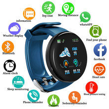 Round Smart Watch Men Blood Pressure Tonometer Women Wrist Passometer Oxygen Sports  Fitness Tracker For Android Ios