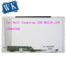 "15,6 ""für Dell Inspiron 15R M5110 M5010 M5525 N5010 N5110 M5030 5520 1555 LCD Bildschirm LED Display 1366x768 ersatz Panel"