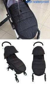 Image 2 - Universale del bambino passeggino accessori calze Invernali Sacco A Pelo Antivento Caldo Sleepsack Bambino Passeggino Coprigambe Per Babyzen yoyo