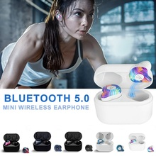 купить VTIN X12 TWS Mini Wireless Bluetooth Earphone Bluetooth 5.0 Wireless Earbuds Stereo In Ear Waterproof Wireless Ear Buds Earphone дешево