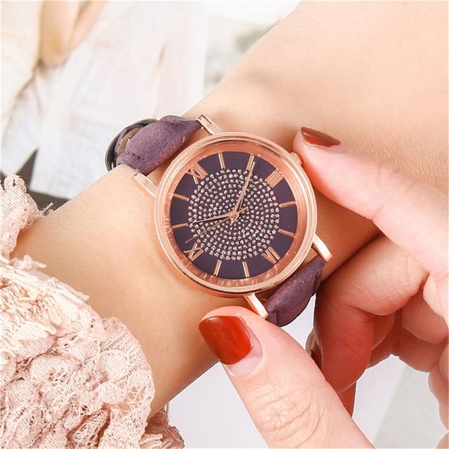 Watches Women Frauenuhr 2021 Luxury Watches Quartz Watch Stainless Steel Dial Casual Bracele Watch Vrouwen relojes para mujer 4