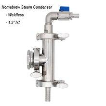 Homebrew Steam Condenser Weldless 1.5