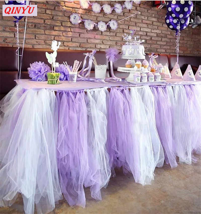 Tulle ม้วน 5/10 M ผ้า Organza Tutu DIY วัสดุวันเกิดห่อของขวัญตกแต่งงานแต่งงาน Tulle ดอกไม้ Arch อุปกรณ์ 7zSH015