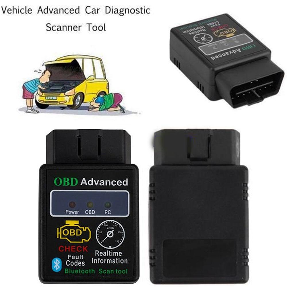 V02H2-1 Vehicle Car Auto Fault Diagnostic Scanner Tool V2.0 Car Scanner Adapter Code Reader Support OBDII Protocol