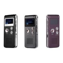 8 ГБ Клип USB Цифровой диктофон Аудио Диктофон Запись Ручка MP3 плеер A5YA
