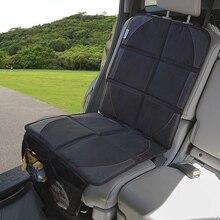 غطاء مقعد السيارة أكسفورد سيارة تتميز بكسوة جلدية مصنوعة من البولي يوريثين غطاء مقعد الحصير منصات مقعد حصيرة واقية للطفل الاطفال حماية وسادة ديكور السيارة