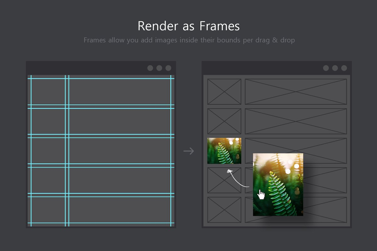 软件插件-PS扩展面板 网格布局创建插件Better Grids – Layout Creation Kit(11)