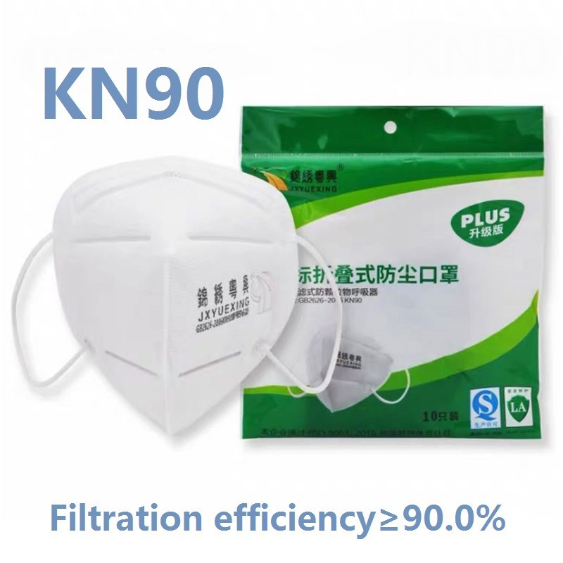 10/50 Pcs KN90 Mask Anti PM2.5 Anti Influenza Breathing Safety Mask Reusable Protective 90% Filtration Mouth Caps Masque Mask