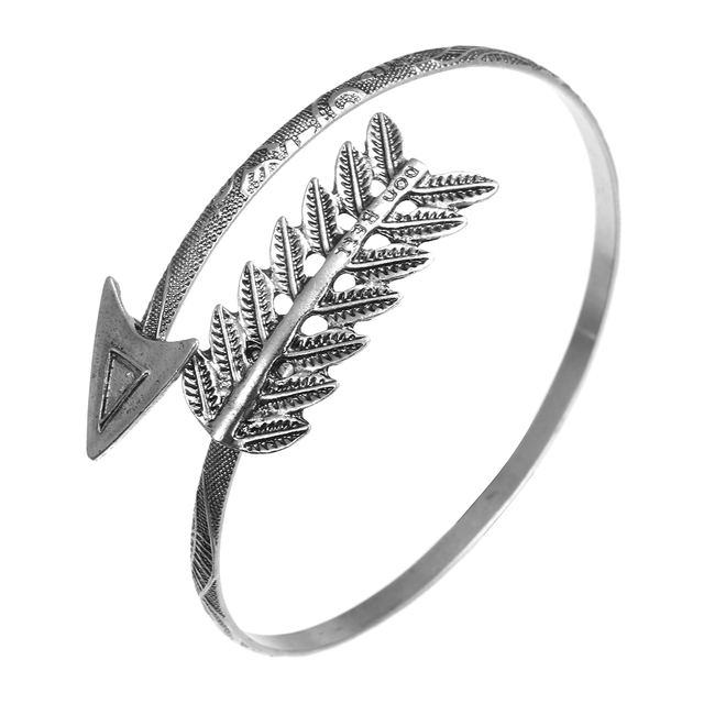 Boêmio étnico pena seta aberta bangle shellhard ajustável braço superior pulseira vintage braço manguito pulseiras senhora retro jóias
