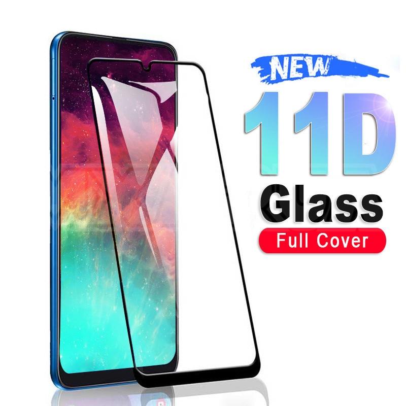 Защитное стекло 11D для Samsung Galaxy A10 A30 A50 A70 A20E, защита экрана Samsung A20S A30S A40S A50S A70S M10S M30S