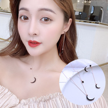 2019 Real Tin Alloy Earrings Brincos Para As Mulheres A Simple Necklace Ear Nail For The New Star Pendant At East Gate Korea