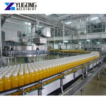 Plastic Bottles Water Production Line Small Scale Soda Water Production Plant Juice Coconut Mineral Water Beverage Product Line