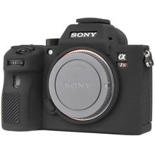 Housse de caméra pour Sony A7II A7R2 A7M2 A7S2 A7III A7R3 A7M3 a9 A7R4 Pro housse de caméra pour Sony Texture Litchi de haute qualité