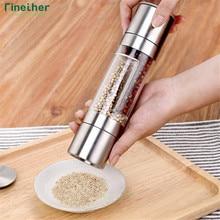 Finether мельница для перца 2 в 1 из нержавеющей стали ручная мельница для соли и перца мельница для специй кухонные инструменты аксессуары для приготовления пищи