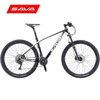 SAVA bicicleta de montaña mtb 27 5 ''carbono mtb cuadro de bicicleta de carbono bicicleta de montaña mtb carbono con SHIMANO DEORE XT y MANITOU horquilla de aire|mountain bike|mtb mountain bike|bicycle shimano -