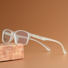 Vazrobe, 8 г, прозрачная оправа для очков, для мужчин и женщин, TR90, очки для мужчин, для близорукости, очки по рецепту, прогрессивные, маленькие