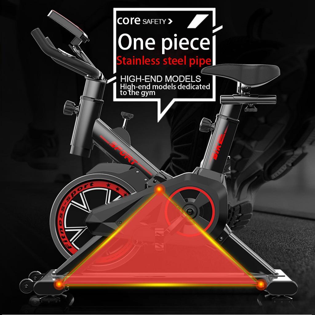 Bicicleta de ejercicio casa ultra-silencioso interior pérdida de peso pedal bicicleta de ejercicio spinning bike equipo de entrenamiento interior - 6