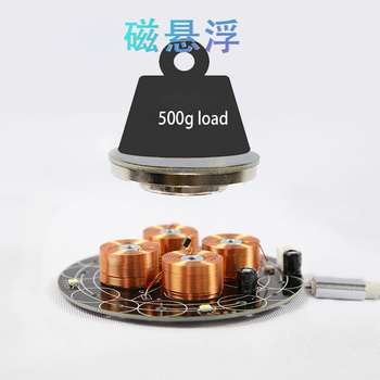 Digital magnetic levitation,  heavy load magnetic levitation, high efficiency and power saving