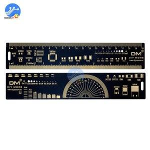 Image 4 - 4CM 15CM 20CM 25CM משולב PCB שליט מדידת כלי הנגד קבלים שבב IC SMD חבילה יחידות