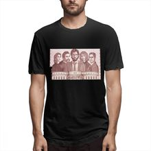 2019 Mens Short Sleeve T-shirt 3D Print t shirt La Casa De Papel Fanart Money Cotton Funny homme Top Tees
