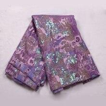 Высококачественная вышитая кружевная ткань нигерийская Женская кружевная ткань платье африканская кружевная ткань французская кружевная ткань свадебное 9439